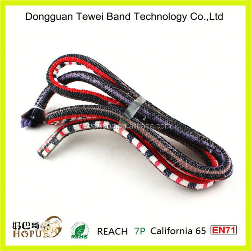 Outdoor solar led rope light,pp double braided rope,pp marine rope
