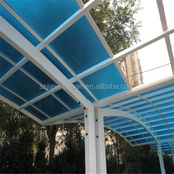 Modern Polycarbonate covering carport canopy