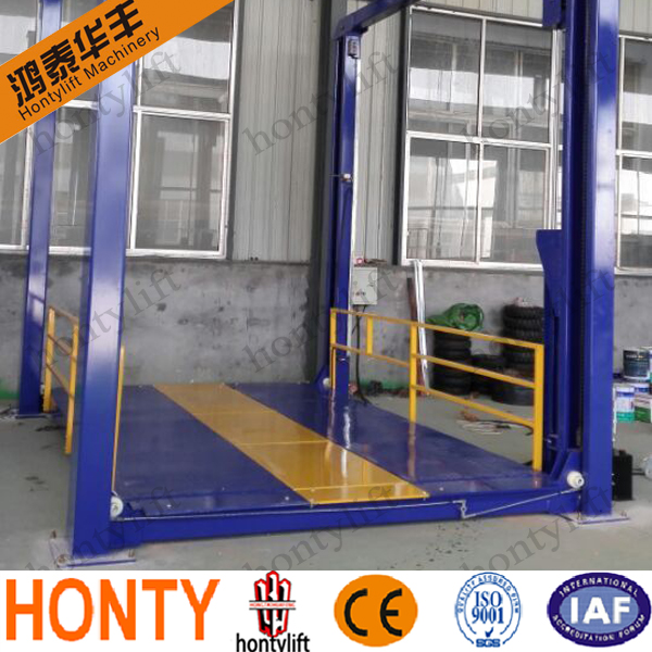 4 post hydraulic lift for car price /cheap car lifts/4 post car parking lift for sale