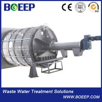 Rotary Mechanical Trash Rake Bar Screen Machine /ZG Model Rotary drum screen/Sewage Processing