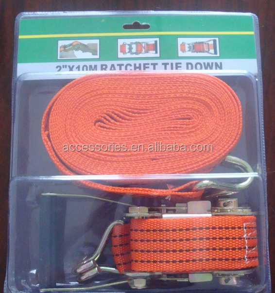 2''/2000 BLS ratchet tie-down straps/ heavy duty