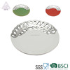 Factory whole sell porcelain fruit open work disc plate ceramic plate wedding marriage plate decoration ceramic