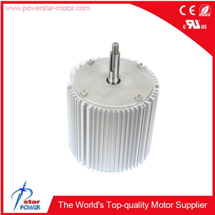 Zhongshan 3/4hp 220V 50hz 1425rpm 4A 6 pole small fan blower motor for air cooler machine