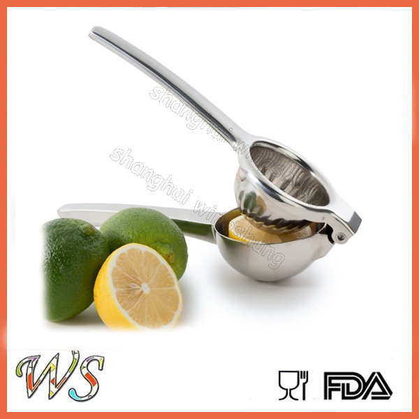 WS- SJ001 High Quality Stainless Steel Hand Juicer with high-polished surface