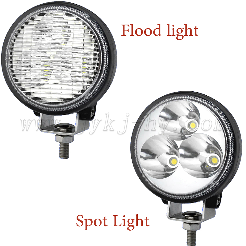 Mini easy mounted off road 9w 9v-32v auto led work light