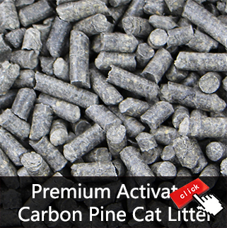 carbon pellets active charcoal pine cat litter small animals bedding from china dalian emily. Black Bedroom Furniture Sets. Home Design Ideas