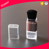 Square transparent dispensing powder brush