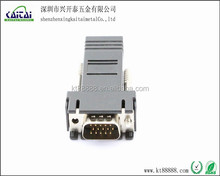 RJ45 to VGA 15p male for computer lan cat6 adapter