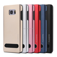 2 in 1super floveme hybrid case made in china metal aluminum case cover for apple iphone