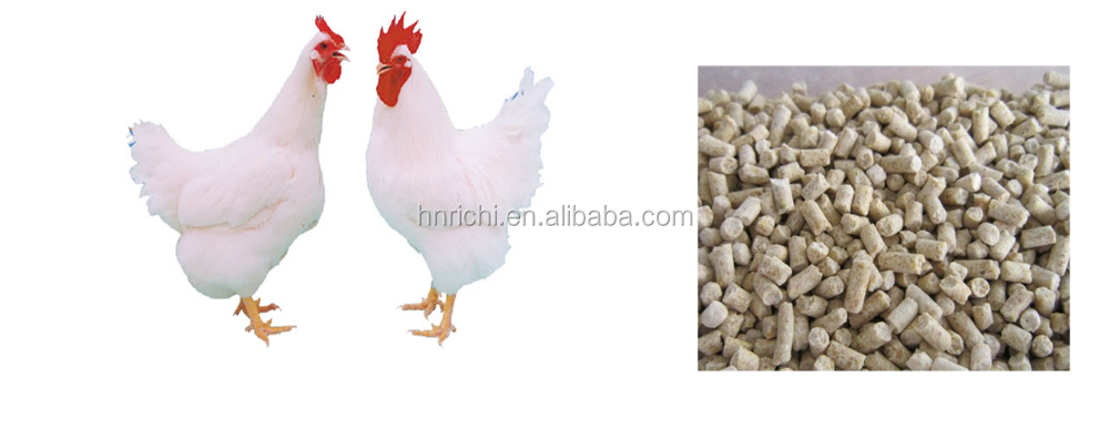 lowest price factory quality animal feed pellet press/pig feed making machinery