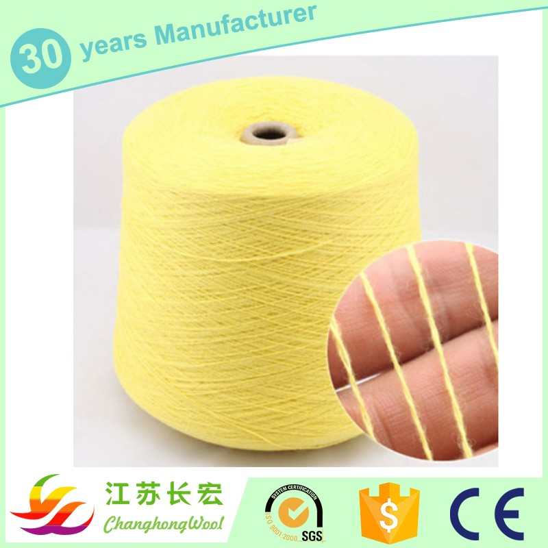2/32Nm 40% cotton 36% rayon 18% nylon 6% wool high quality wholesale machine knitting yarn on cones