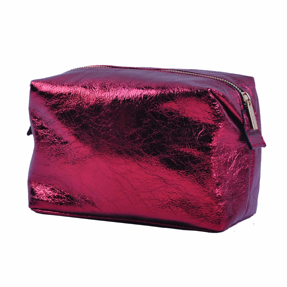 Popular Fashion Makeup Pouch,Small Cosmetic Bag ,Rectangular Zippered Make-up Bag