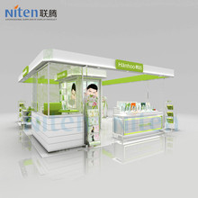 Cosmetics whole shop design, cosmetics display decorate makeup shop interior design
