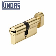 brass cylinder lock 3 key door cylinder