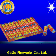 High quality fireworks single voice colour thunder crackers red chinese firecrackers for sale