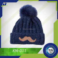 Black winter hat, beanie hats wholesale made in China
