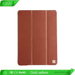 Branded quality fashion cow leather case for mini iPad accept MOQ 50 pcs
