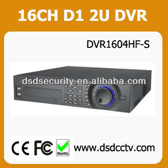 H 264 DVR 16 CH Support 8 SATA HDDs HDMI