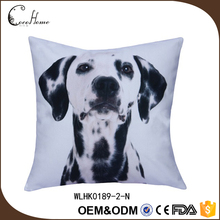 Latest design photo print 3d sublimation dog cushion cover
