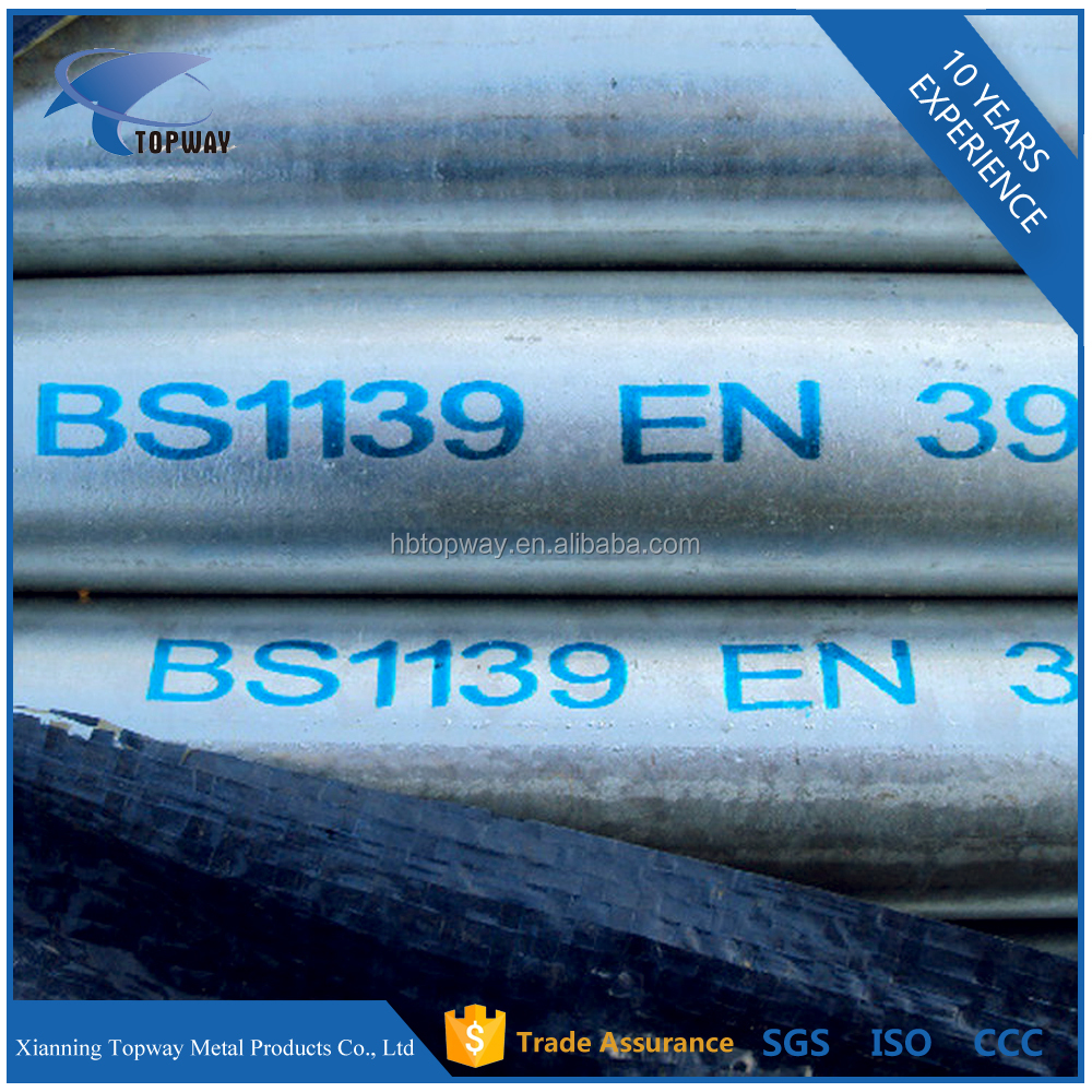 Alibaba Wholesale Galvanized Steel Pipe and Tube / Galvanized Steel Scaffold for <strong>Sale</strong>
