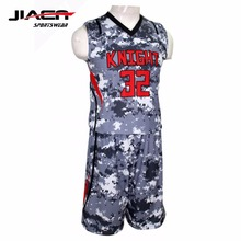 Sublimation blank cheap custom basketball jerseys reversible custom basketball uniforms set