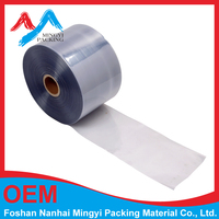 clear pvc heat shrink plastic film in roll