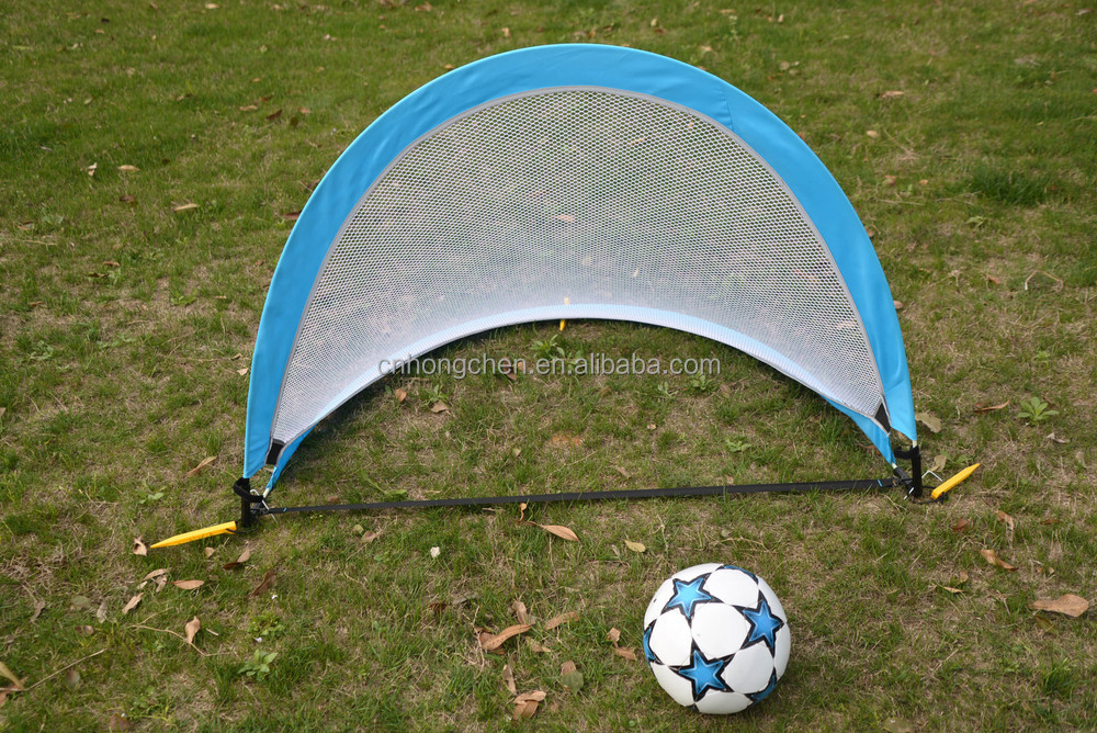High quality coarse mesh kid toy soccer goal