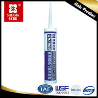 Aluminum and glass silicone sealants for waterproof sealing