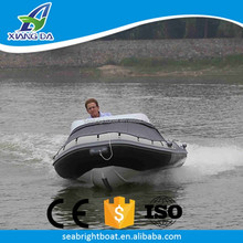 Aluminum Hull Material and CE Certification Australian Standard High Performance 14ft inflatable Dive RIB Boat for Sale
