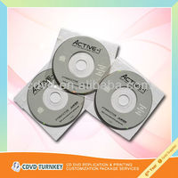 bulk cd replication and printing factory in Fujian