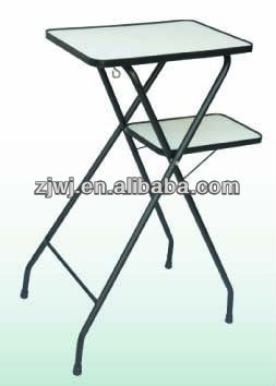 A.V cart audio visual stand Presentation aluminum table tv table with wheels