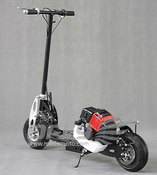 43CC CE Approved Foldable Gas Scooter gas scooter stand up