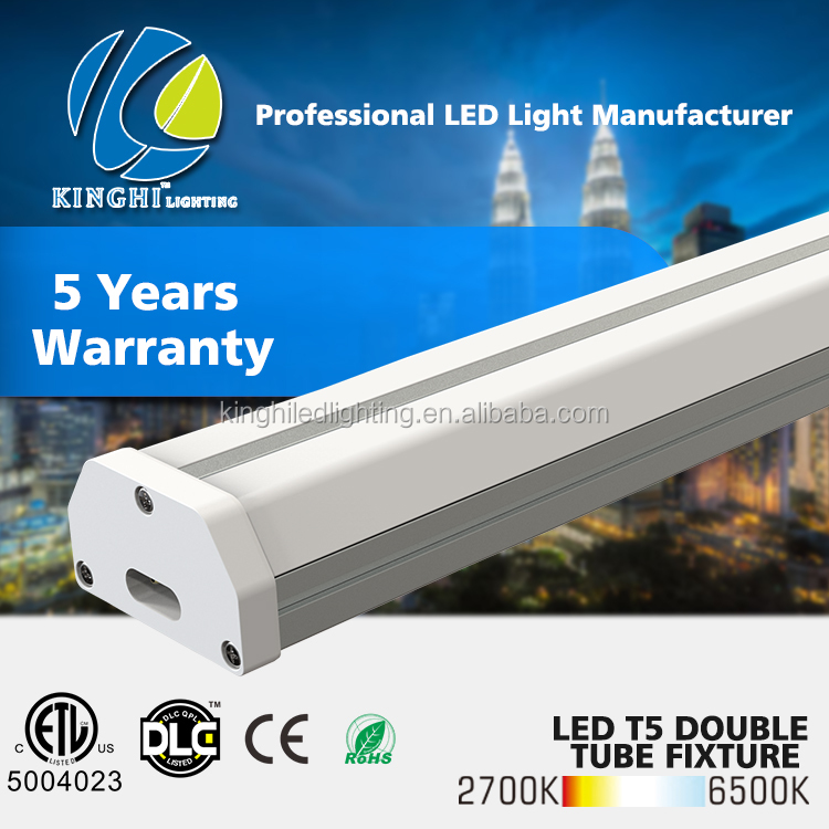 Wholesale factory price no flicker double tube8 6ft led light tube 8 china fitting ul etl dlc