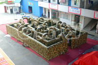 laser tag inflatable laser maze military maze