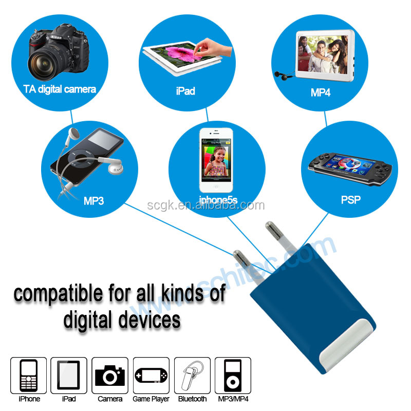 Four ports brand dock charger for cell phones wholesale
