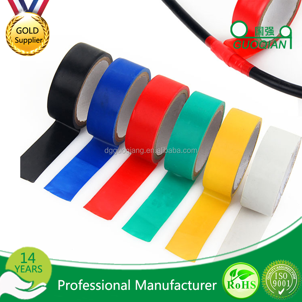 wholesale free sample pvc electrical insulation tape for electric wire