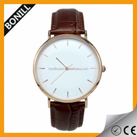 Name brand wholesale modern mens watch gold custom mechanical watch design
