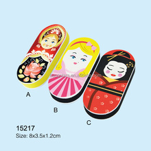 custom russian nesting dolls colorful nail buffer and shiner