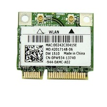 Broadcom BCM94322HM8L banda dual a 300 Mbps wireless-n 802.11a/B/g/n wifi Media mini Tarjeta pci-e WLAN 300 m adaptador de red portátil