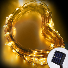 Wedding party decorative micro solar powered patio light