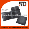 Guangzhou Manufacture Old Fashion Black Styling Leather Wallet