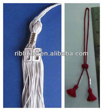 elegant and fashionable coffee beaded tassle fringe