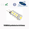 G4 13 smd led car light, 5050 smd g4 light bulb for auto signal light