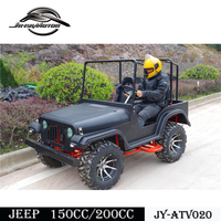 China 150cc 4 wheeler go kart CVT with reverse CE approved