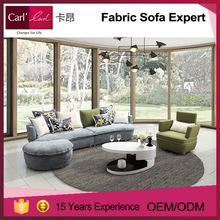 New design popular color combination can be customized the sofa
