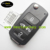 Topbest 4 button flip key shell with black sticker for vw folding car key