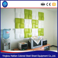 Sound-Absorbing function plastic 3d textured wall panels for home decor