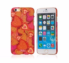 Custom design free sample PC material fancy cell phone case for iPhone 6