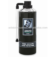 Aristo Tire Sealer Inflator for car and motorcycle, tire repaire sealant