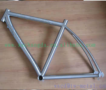 titanium road bike frame with integrated head tube chinese titanium road bike frame customized titanium road bike frame